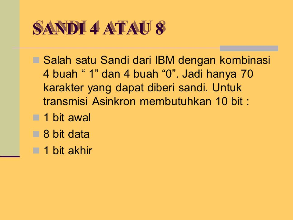 SANDI 4 ATAU 8