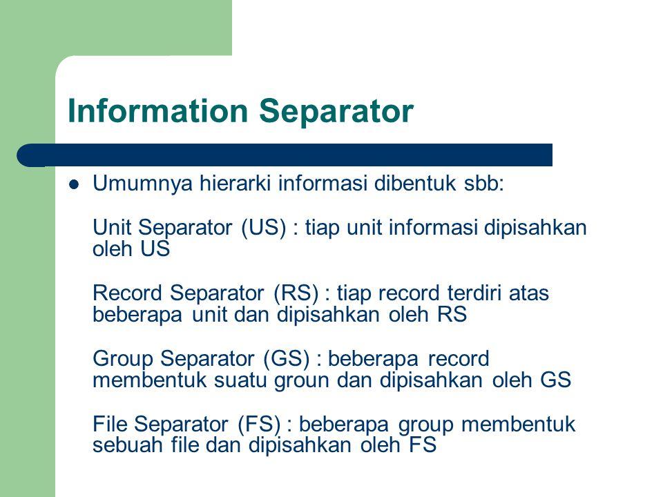 Information Separator