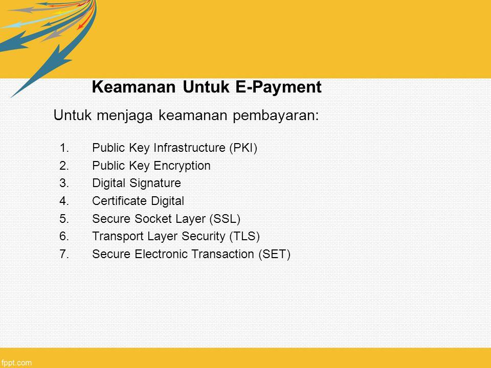 Keamanan Untuk E-Payment