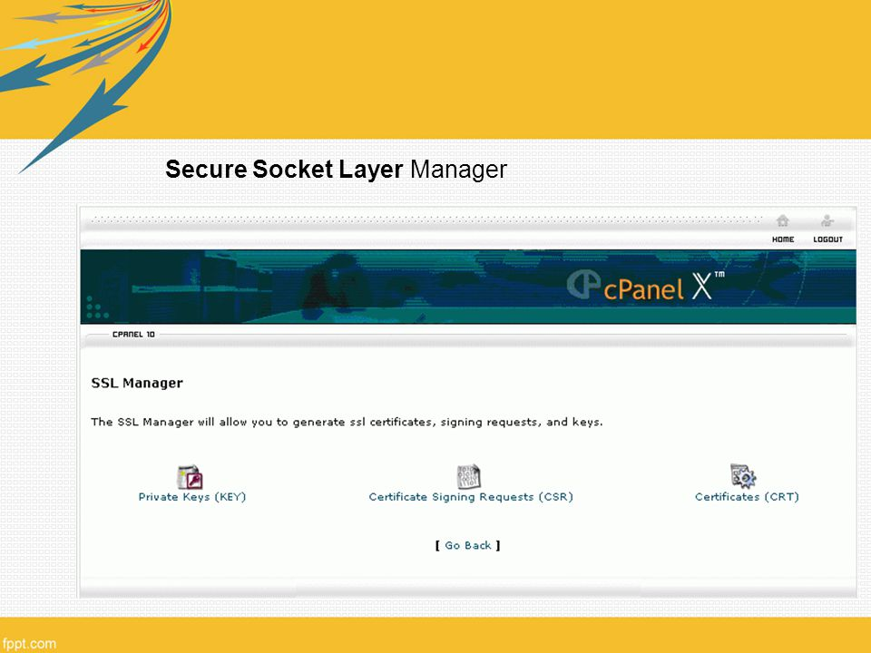Secure Socket Layer Manager