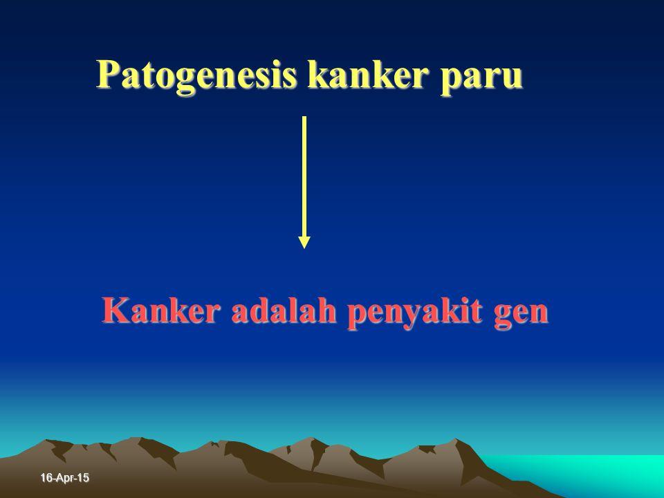 Patogenesis kanker paru