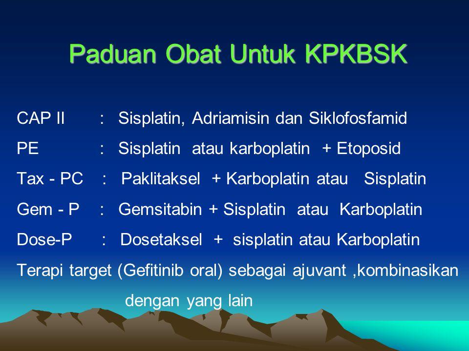 Paduan Obat Untuk KPKBSK