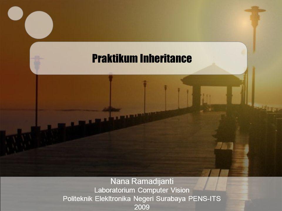 Praktikum Inheritance