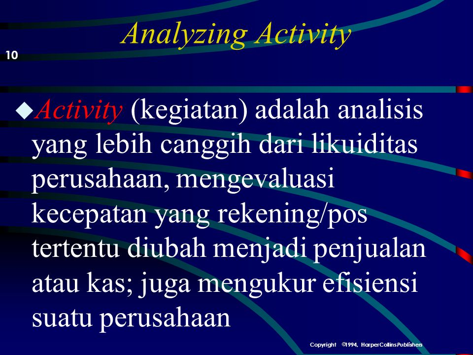 Analyzing Activity 10.