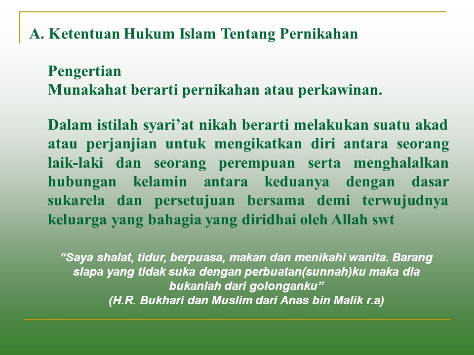 (H.R. Bukhari dan Muslim dari Anas bin Malik r.a)
