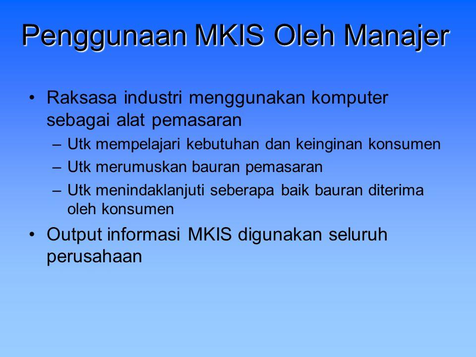 Sistem Informasi Pemasaran (MKIS)