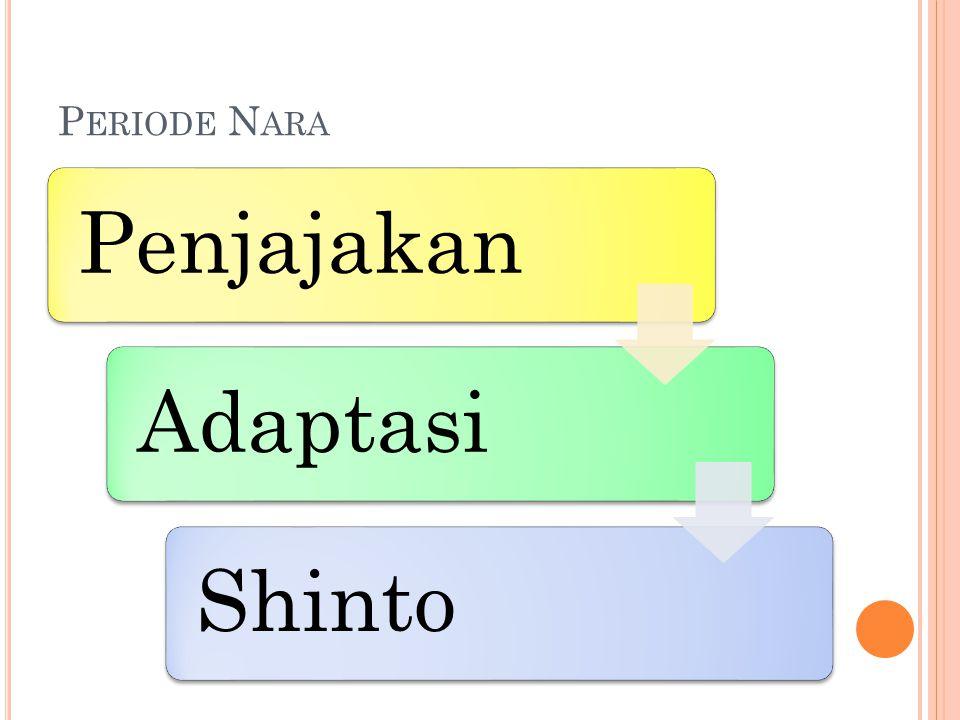Periode Nara Penjajakan Adaptasi Shinto
