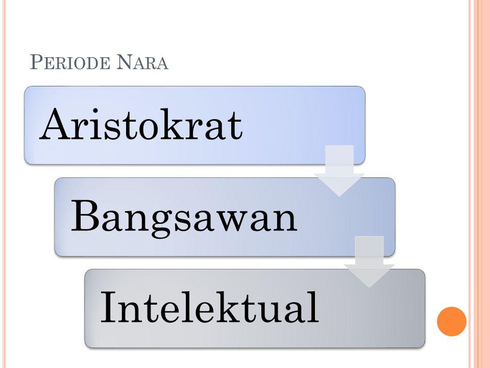 Periode Nara Aristokrat Bangsawan Intelektual