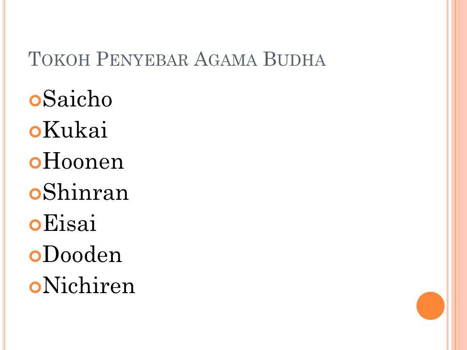 Tokoh Penyebar Agama Budha