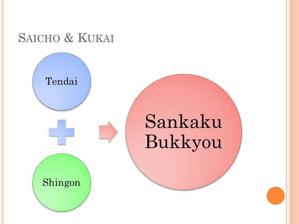 Saicho & Kukai Tendai Shingon Sankaku Bukkyou