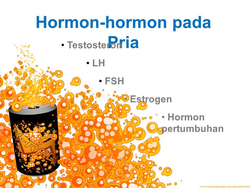 Hormon-hormon pada Pria