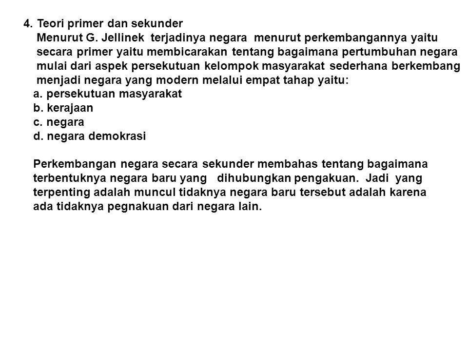 4. Teori primer dan sekunder
