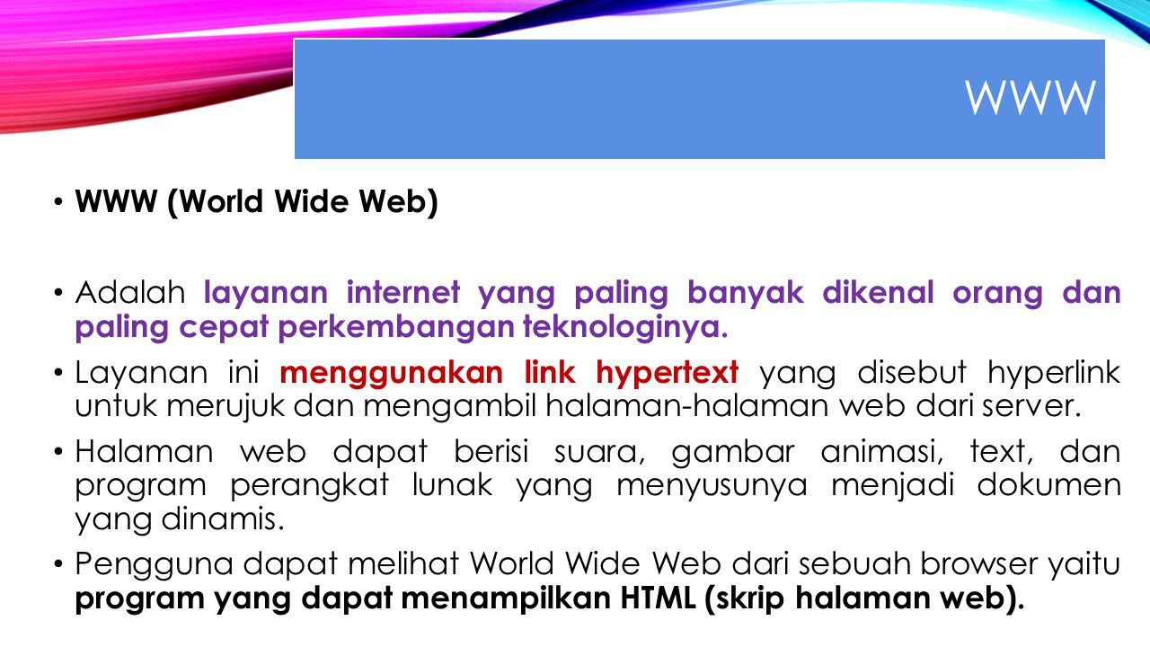 WWW WWW (World Wide Web)