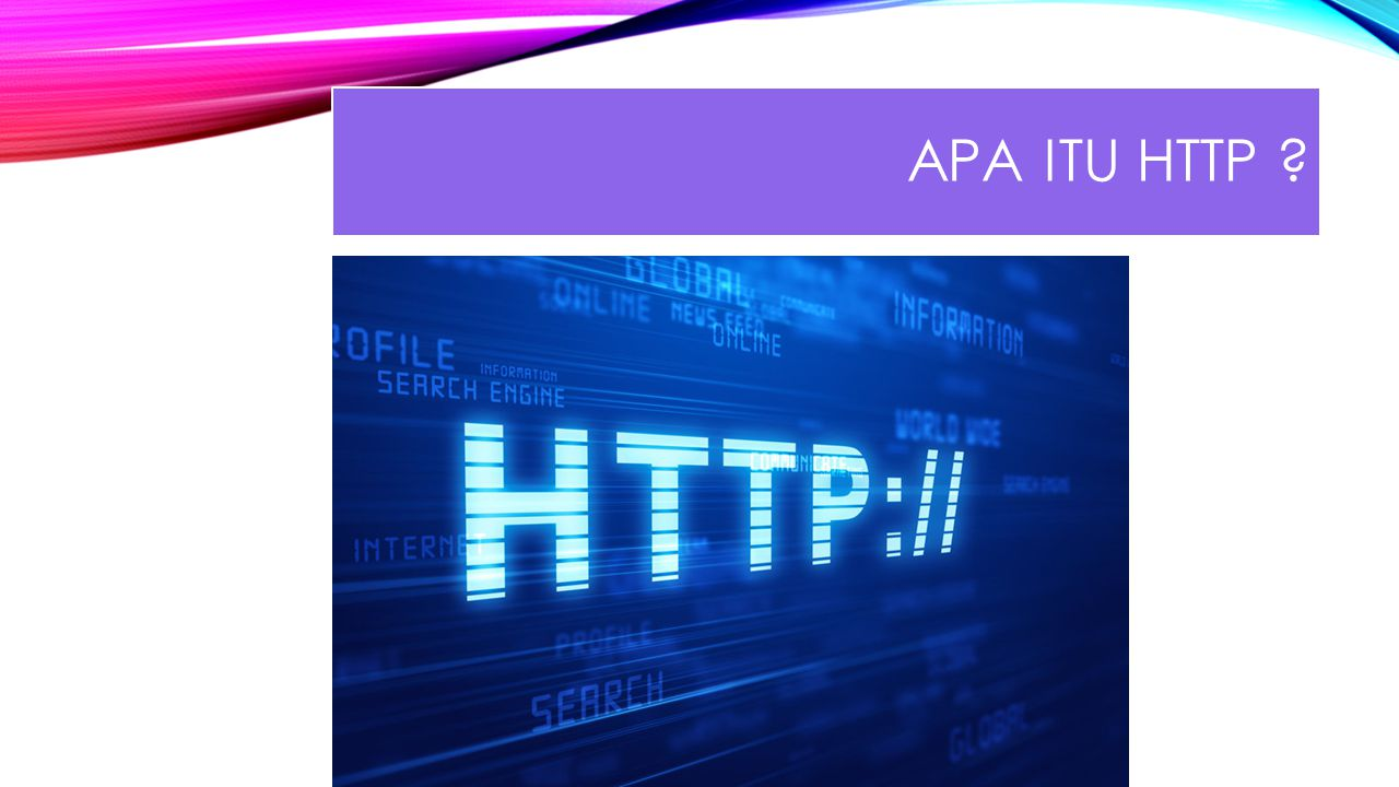 Apa itu HTTP