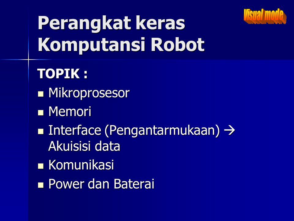 Perangkat keras Komputansi Robot