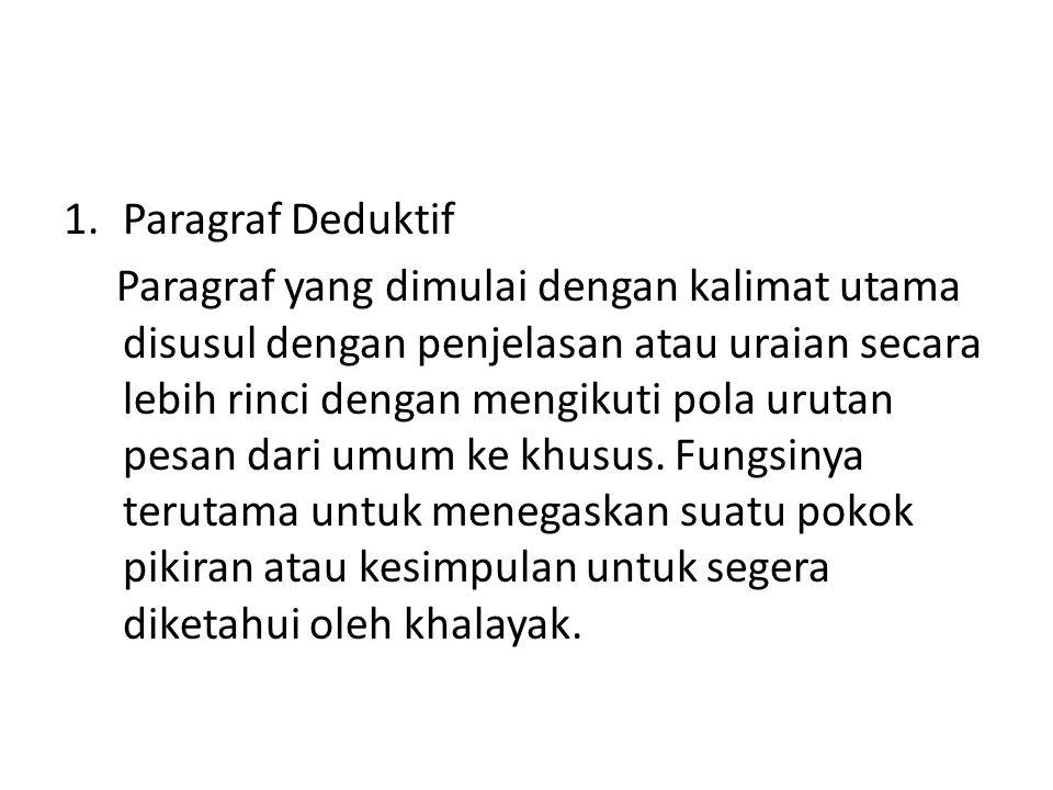 Paragraf Deduktif