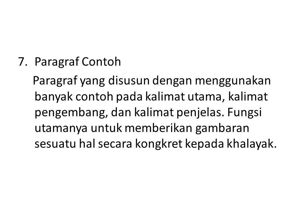 Paragraf Contoh