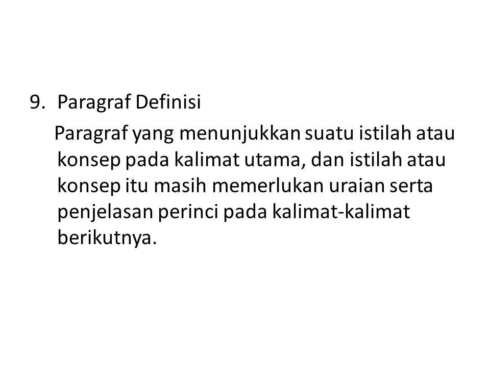 Paragraf Definisi