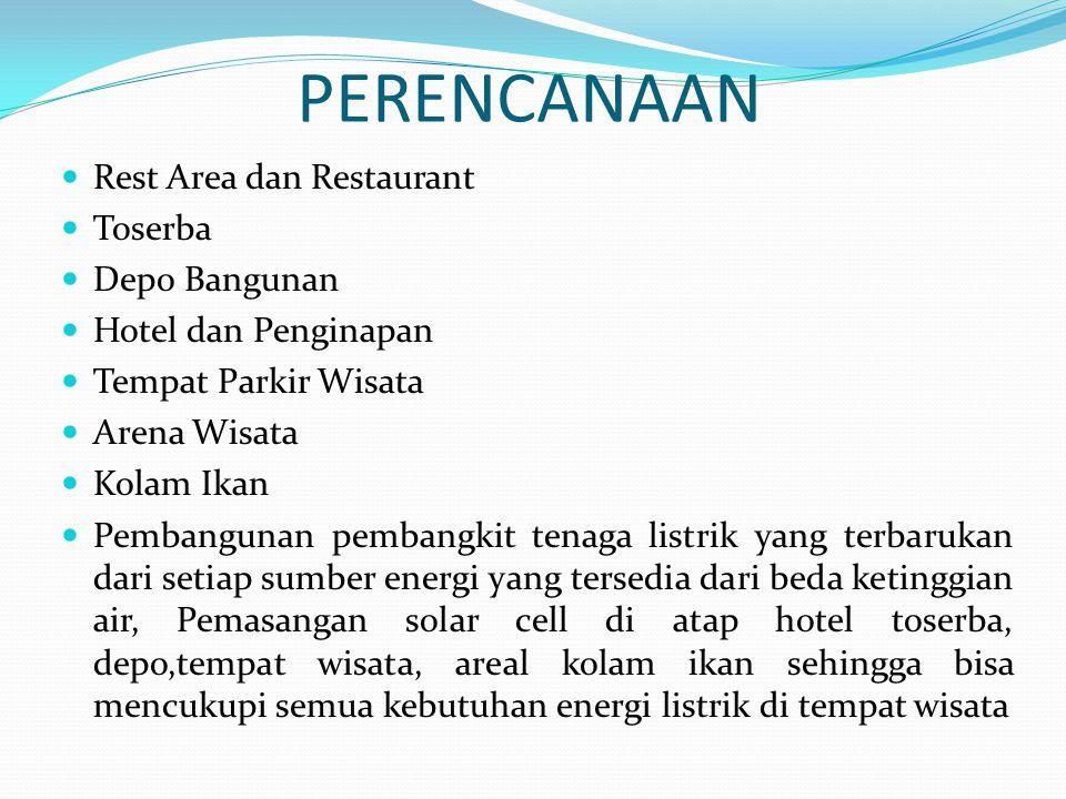 PERENCANAAN Rest Area dan Restaurant Toserba Depo Bangunan