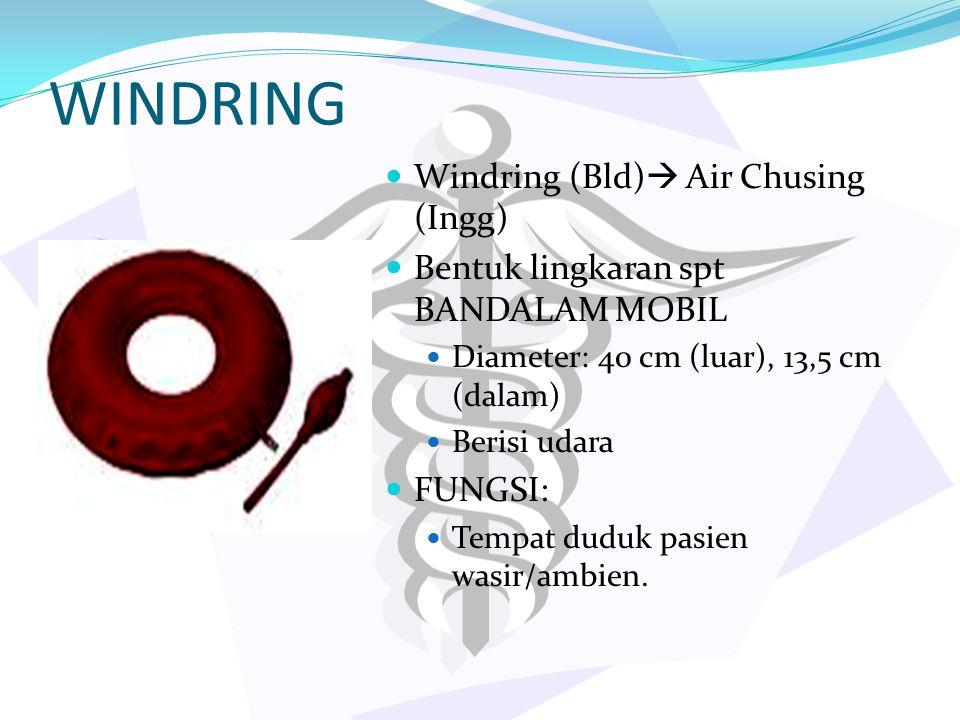 WINDRING Windring (Bld) Air Chusing (Ingg)