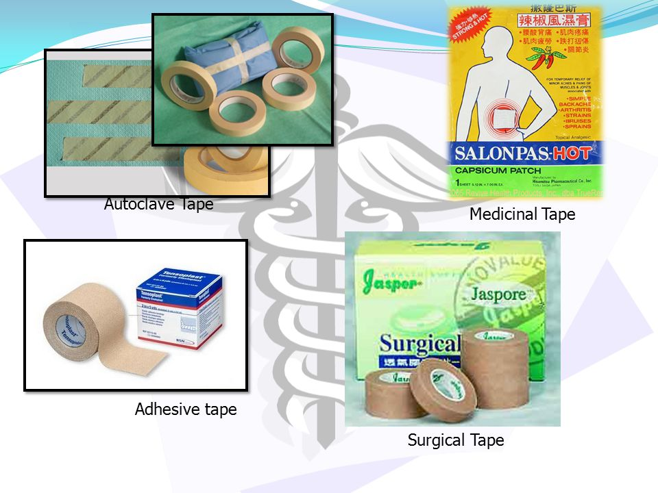 Autoclave Tape Medicinal Tape Adhesive tape Surgical Tape