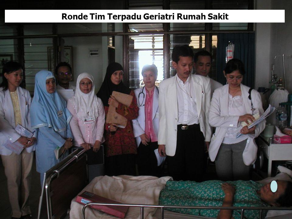 Ronde Tim Terpadu Geriatri Rumah Sakit