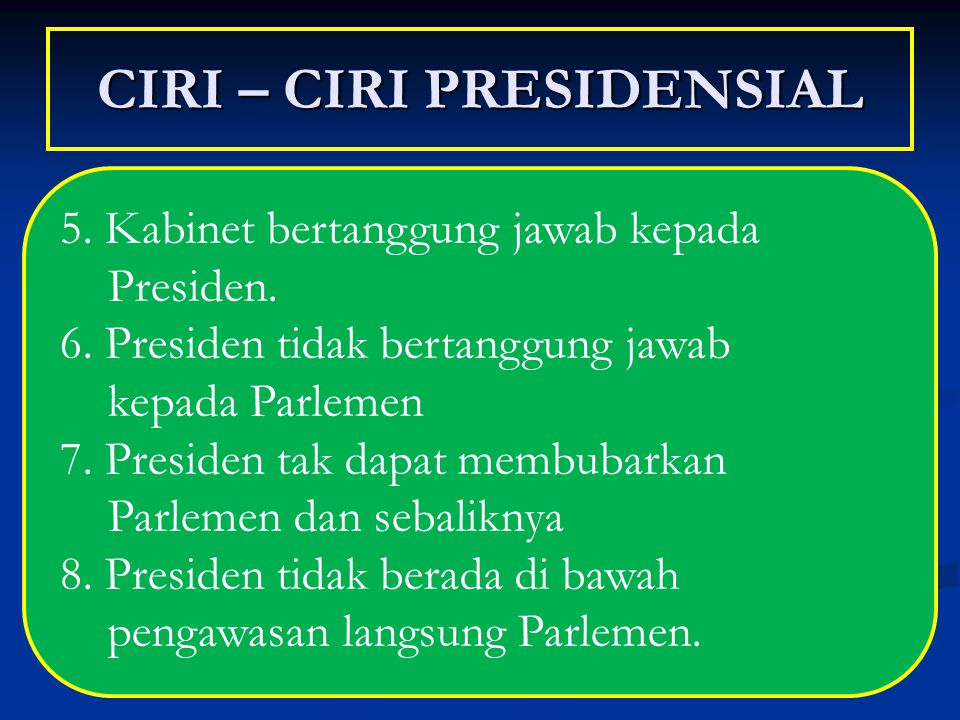 CIRI – CIRI PRESIDENSIAL