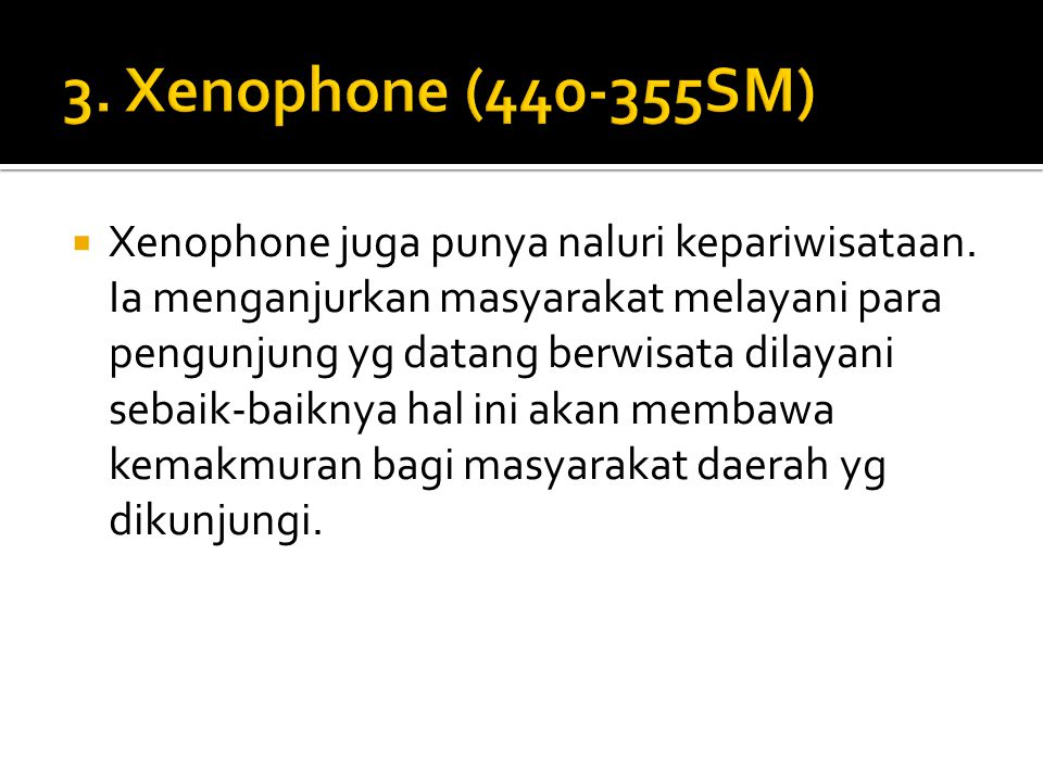 3. Xenophone (440-355SM)