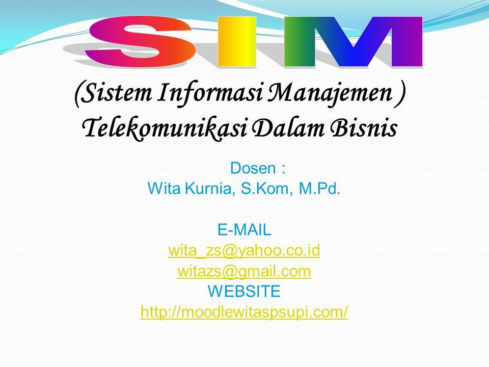 (Sistem Informasi Manajemen ) Telekomunikasi Dalam Bisnis