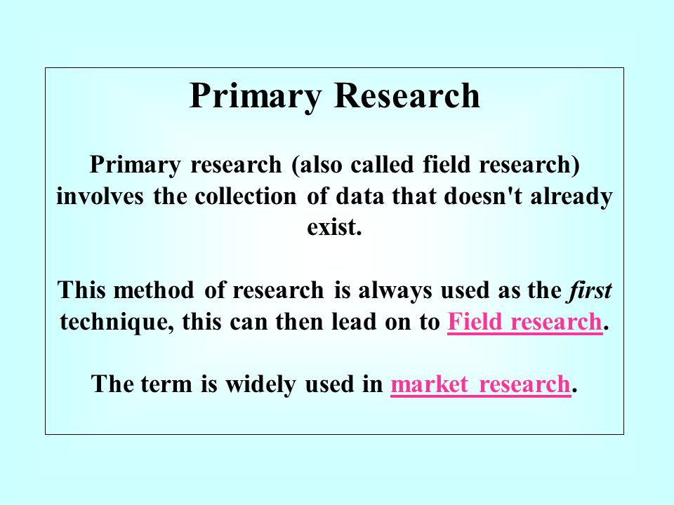 The term is widely used in market research.