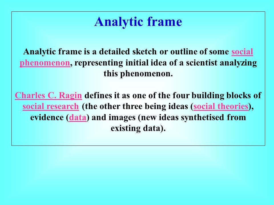 Analytic frame