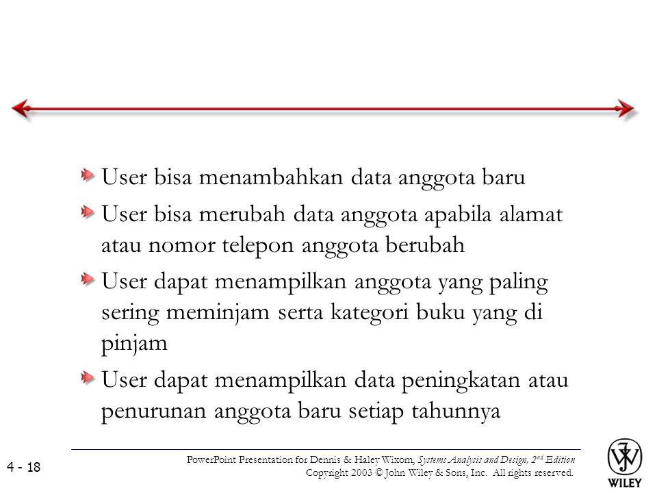 User bisa menambahkan data anggota baru