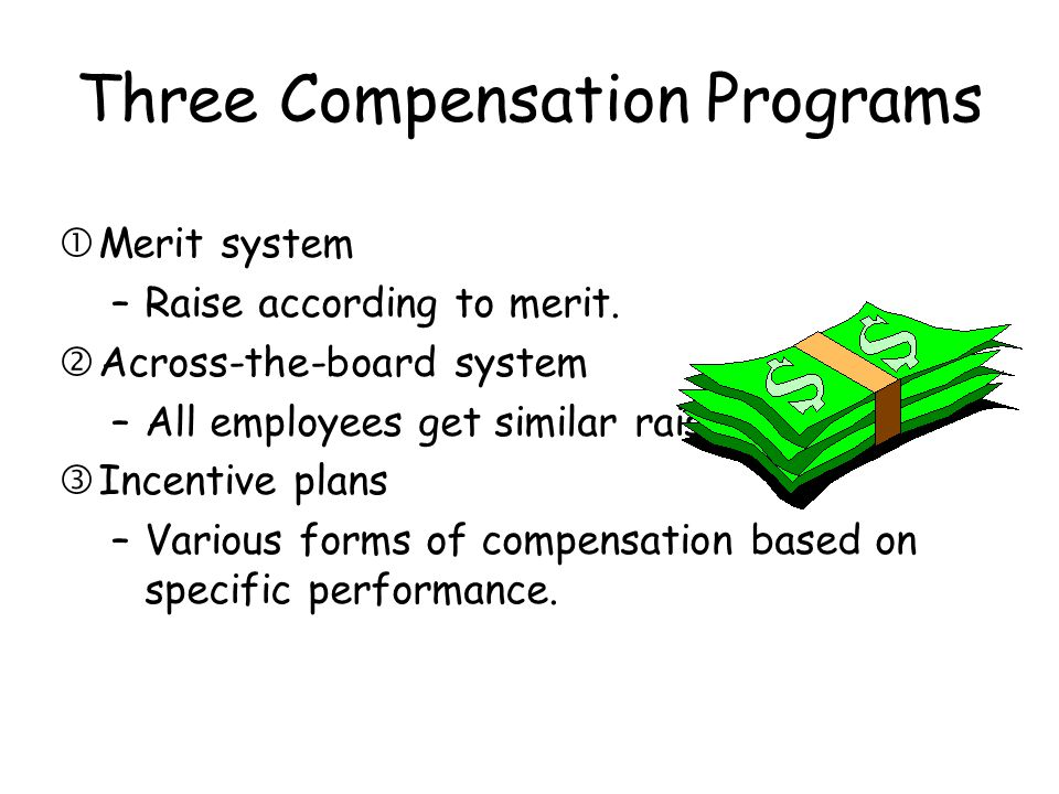 Three Compensation Programs
