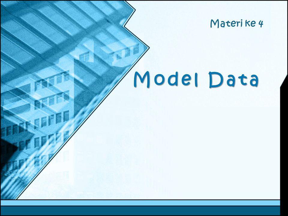 Materi ke 4 Model Data