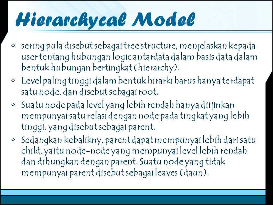 Hierarchycal Model