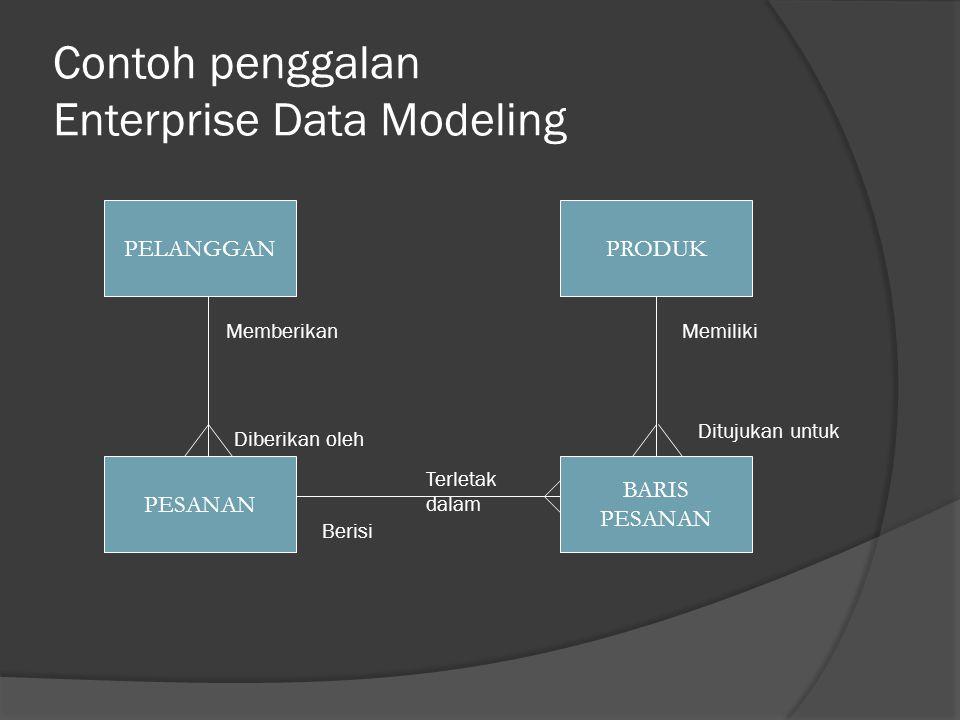 Contoh penggalan Enterprise Data Modeling