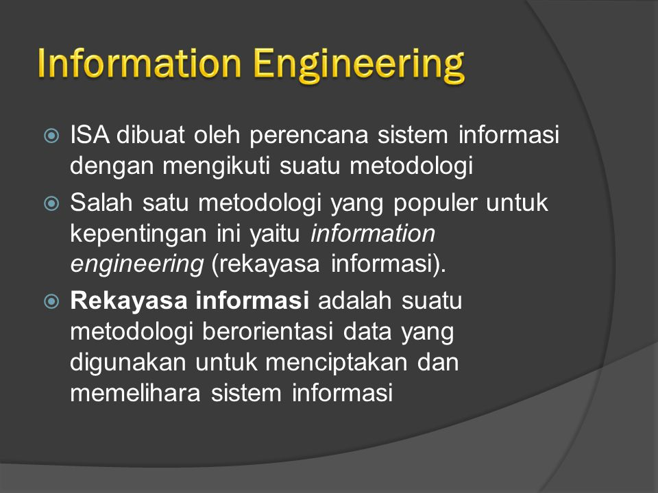 Information Engineering