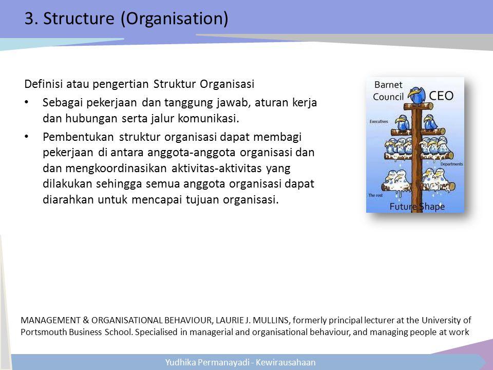 3. Structure (Organisation)