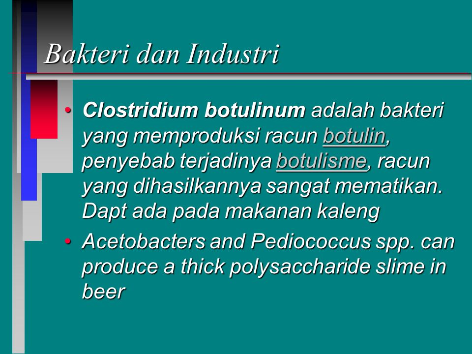Bakteri dan Industri
