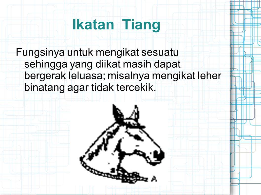 Ikatan Tiang