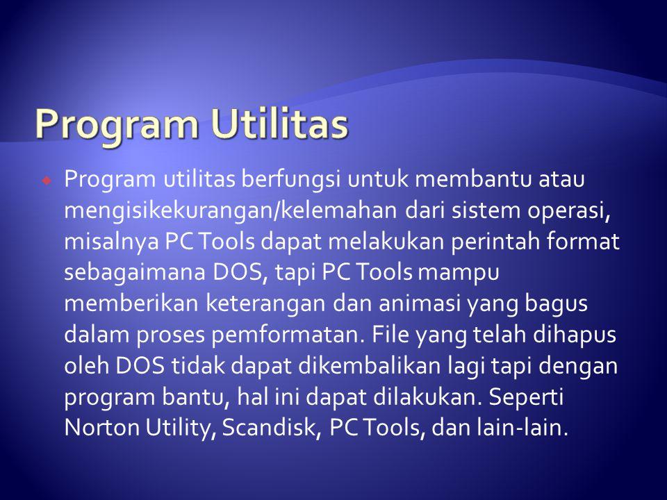 Program Utilitas