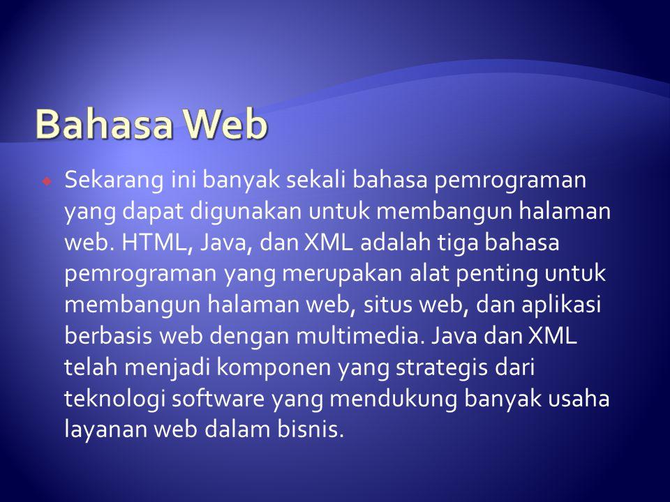 Bahasa Web