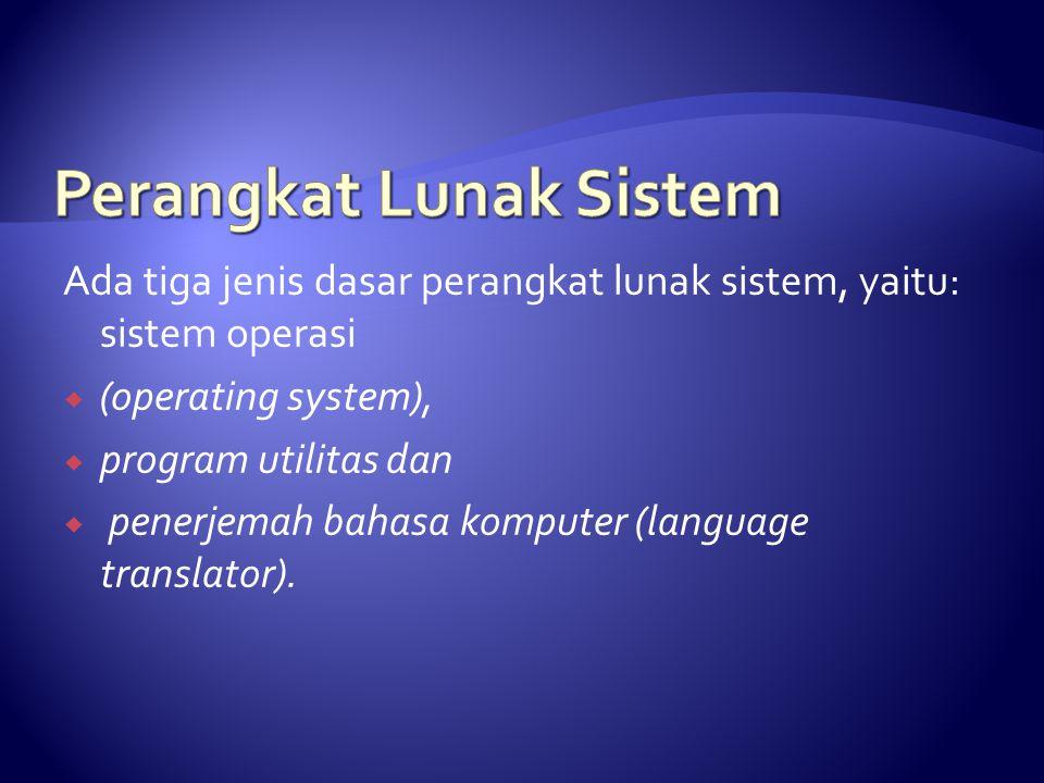 Perangkat Lunak Sistem