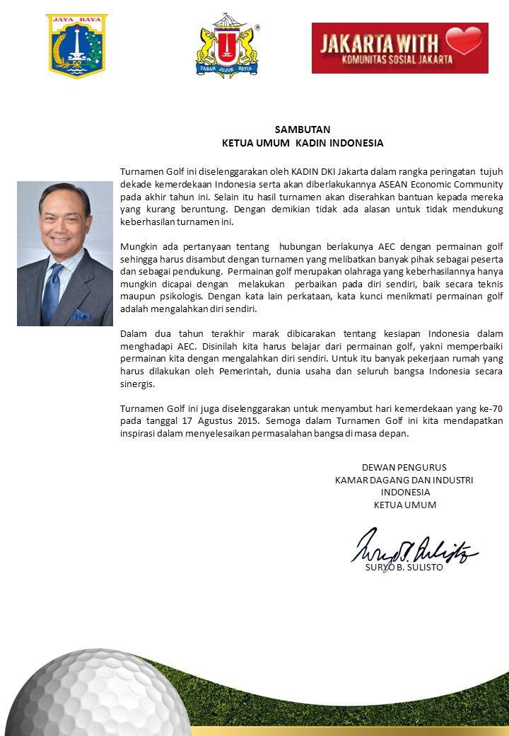 KETUA UMUM KADIN INDONESIA