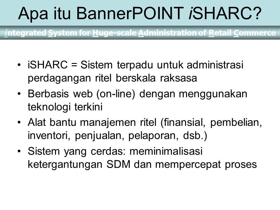 Apa itu BannerPOINT iSHARC