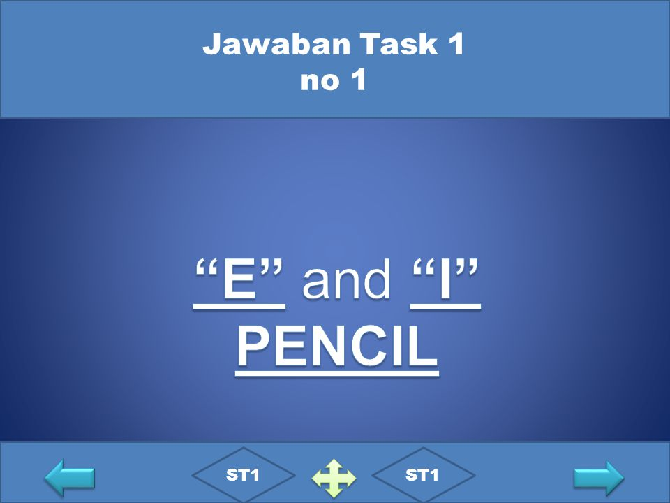Jawaban Task 1 no 1 E and I PENCIL ST1 ST1