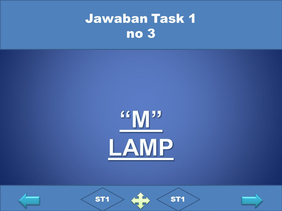 Jawaban Task 1 no 3 M LAMP ST1 ST1