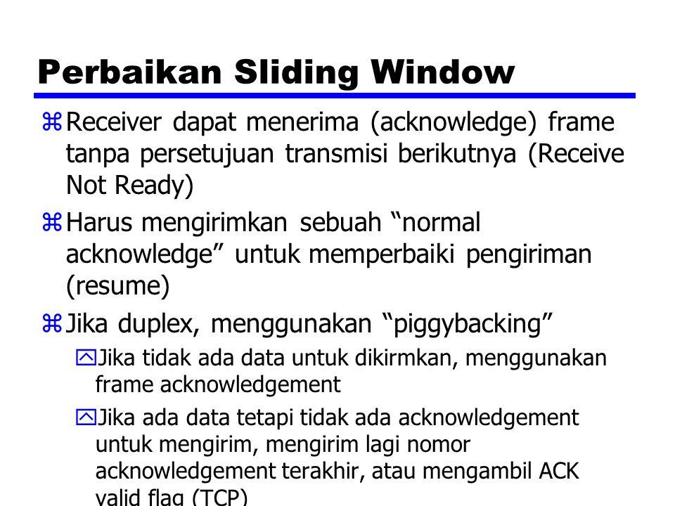 Perbaikan Sliding Window