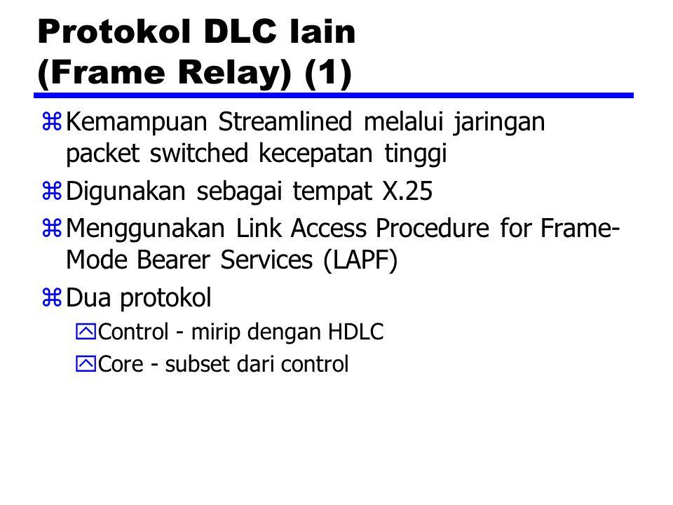 Protokol DLC lain (Frame Relay) (1)