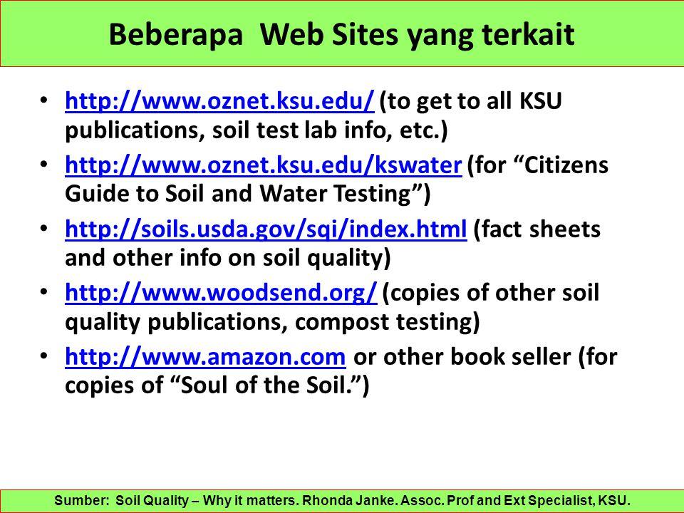 Beberapa Web Sites yang terkait